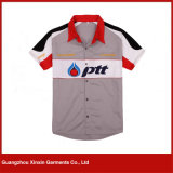 Le comité technique en gros F1 d'OEM court- la moto de chemise emballant des chemises pour les sports (S119)