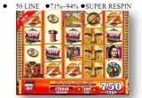 La macchina del gioco di gioco delle slot machine di Plataea
