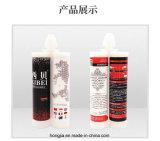Lechada de cerámica impermeable y colorida de China de la resina de epoxy, sellante del silicón, pegamento adhesivo