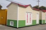 Casa prefabricada prefabricada de la estructura de acero del envase vivo móvil de la casa para la venta