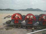 Machine à laver de sable/rondelle à roues de sable