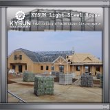 Struttura d'acciaio prefabbricata che costruisce una villa mobile dei 2 pavimenti per i dormitori