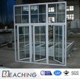 프랑스 작풍 여닫이 창 Windows 알루미늄 이중 유리를 끼우는 Windows