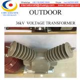 Transformateur extérieur de potentiel de 36kv 500va