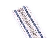 De Ritssluiting van het metaal met de Tanden van de glanzend-Kleur en de Band van de Aanpassing van de Kleur/Hoogste Kwaliteit