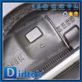 Válvula de verificación dual de alta presión de la oblea de la placa de Didtek API 6D Wcb