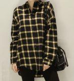 Пользовательские моды одежда для женщин и Повседневные рубашки блузы длинной втулки