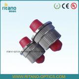 Adaptador híbrido óptico del híbrido Adapter/DIN-FC SM de la fibra para el funcionamiento del marco de distribución
