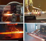 Máquina de recozimento de aquecimento por indução para barra de fio de recozimento de aquecimento