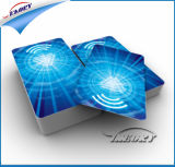 Cartão direto da identificação da microplaqueta 125kHz RFID do plástico Em4100 Tk4100 do preço de fábrica