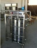 Refrigerador do leite da placa refrigerando de cambista de calor do cambista de calor da placa