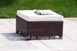 insieme di vimini del sofà del Brown della mobilia sezionale esterna del patio di figura di 7PCS U