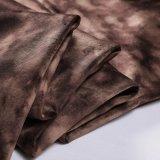 Ткань 2018 бархата полиэфира для пальто