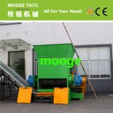 PE PP Agricultura de redes de pesca de resíduos de plástico filme máquina triturador