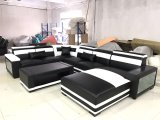 Sofa en gros de tissu de modèle moderne de salle de séjour