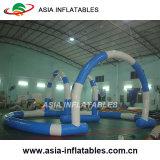 Juegos inflables emocionantes de la pista de la diversión de los cabritos