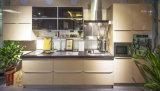 Лоснистые подгонянные деревянные неофициальные советники президента для кухонного шкафа гостиницы