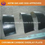 Carboneto do cromo que afronta a placa do desgaste para a tampa do rolo do cimento