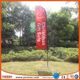 A publicidade exterior impresso barata Bandeira de Praia Personalizado