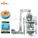 El arroz automático de la fábrica sopla máquina del envasado de alimentos de bocados