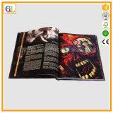 Impressão feita sob encomenda profissional do livro da arte do Hardcover (OEM-GL043)