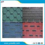 Dach-Material-Fiberglas-bunter Asphalt-Schindel
