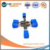 Fabrication de carbure de tungstène bavures avec une bonne dureté rotatif