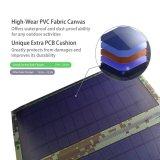 Painel Solar Dobrável do carregador à prova de 10W/15W/20W com duas portas USB de 5V saída para telefones celulares Banco de Potência