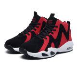 Zapatos del deporte del baloncesto de los altos hombres superiores vendedores calientes del fabricante, hombres al por mayor de los zapatos de baloncesto de los amaestradores
