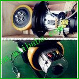 Antrieb mit PU-Gummireifen für Gabelstapler-Industrie 230mm 16n. M-Antriebseinheit-Montage 1.5kw Wechselstrommotor 3200r/Min für anhebendes Maschinen-elektrisches Ladeplatten-LKW-Rad