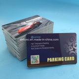 Sistema de imobilização do veículo cartões de estacionamento de RFID de Design Personalizado
