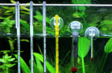 Soem-Glashaken-Aquarium-Fisch-Becken-Thermometer