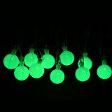 가정 정원 안뜰 잔디밭 당 훈장을%s 지구 50 LED 공 끈 빛