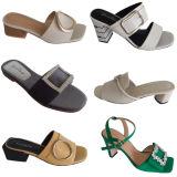 El zapato de los accesorios de las mujeres corta los ornamentos del Rhinestone de las decoraciones