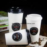 Kop van de Koffie van het Document van de Verkoop van de fabriek de Directe Beschikbare 12oz Afgedrukte voor het Drinken