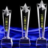 Cristal personnalisé Five-Star accorde à K9 trophée de cristal pour souvenir