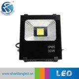 セリウムRoHSが付いている超細いSMD 10W 30W 50W 100W-200W屋外LEDのフラッドライト