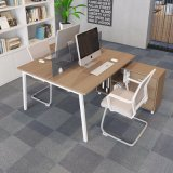 Simple Table de réunion de bureau en bois MDF