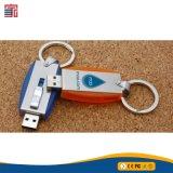 Vara barata plástica do USB do preço de fábrica 1GB 2GB 4GB 8GB 16GB 32GB 64 GB com Keychain