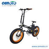 바닷가 함 전기 자전거를 접히는 20*4.0 뚱뚱한 타이어