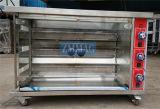 Equipamento brasileiro da cesta da galinha do forno do Rotisserie da grade comercial (ZMJ-3LE)