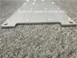 De plata de aluminio mecanizado anodizado pulido/lámina de aluminio