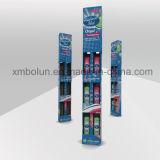 Soportes de visualización de suelo de la cartulina de la promoción del champú en venta