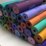 Mayorista de fábrica resistente PVC Ecológica TPE estera del yoga