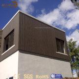De UV Bestand Gemakkelijke Bekleding van de Muur van de Installatie WPC Buiten voor Verkoop