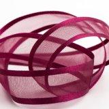 Оптовая торговля атласная лента Organza кромки свадьбы DIY Organza волосы носовой части ленты