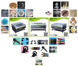 Crystal gravura a laser de CO2 máquina de corte e fabrico de máquinas de processamento para venda