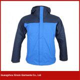 Bleu élégant 3 de créateur dans 1 jupe chaude de Winbreaker de ski (J129)