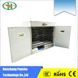 Großhandelspreis-vollautomatischer Digital-Huhn-Ei-Inkubator mit Thermostat