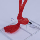 Dispalysおよび休日の装飾をつけるために防水フラミンゴ3DのモチーフライトセリウムRoHS